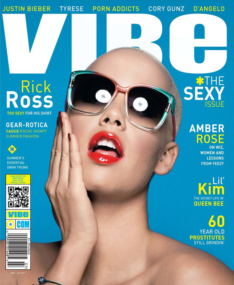rick ross vibe magazine cover. Amber Rose is splitting VIBE#39;s